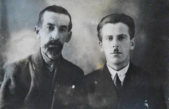 Котиковы - Леонид (слева) вместе с братом Павлом