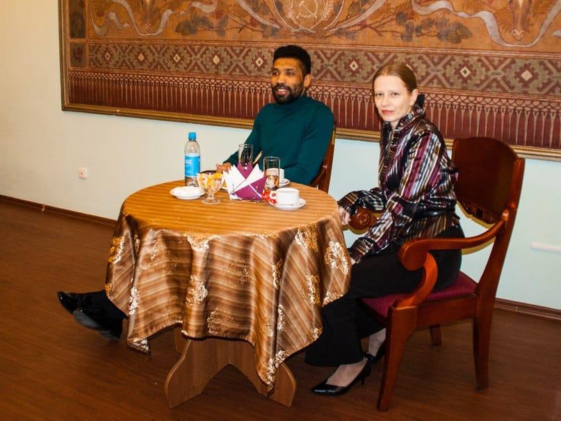 Алексей Ньяга и Юлия Генделева