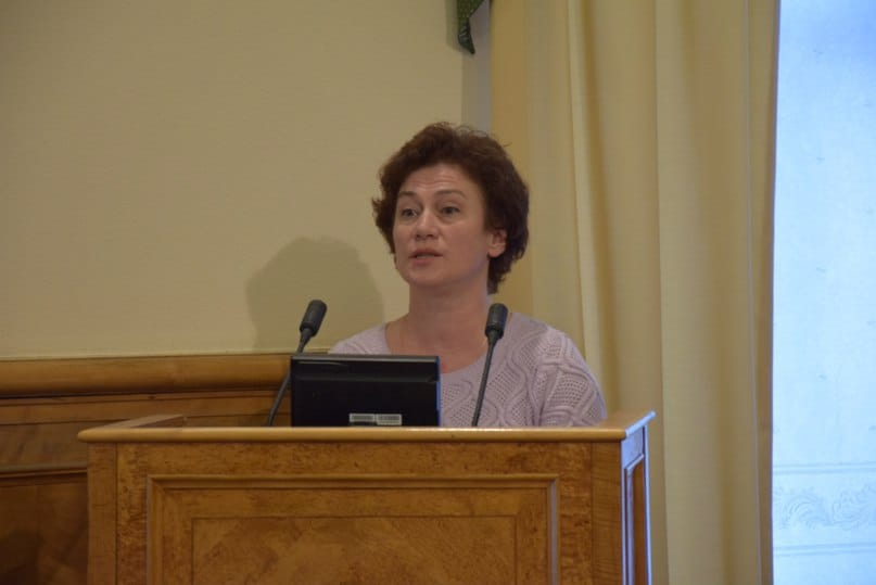 Замминистра образования Татьяна Васильева