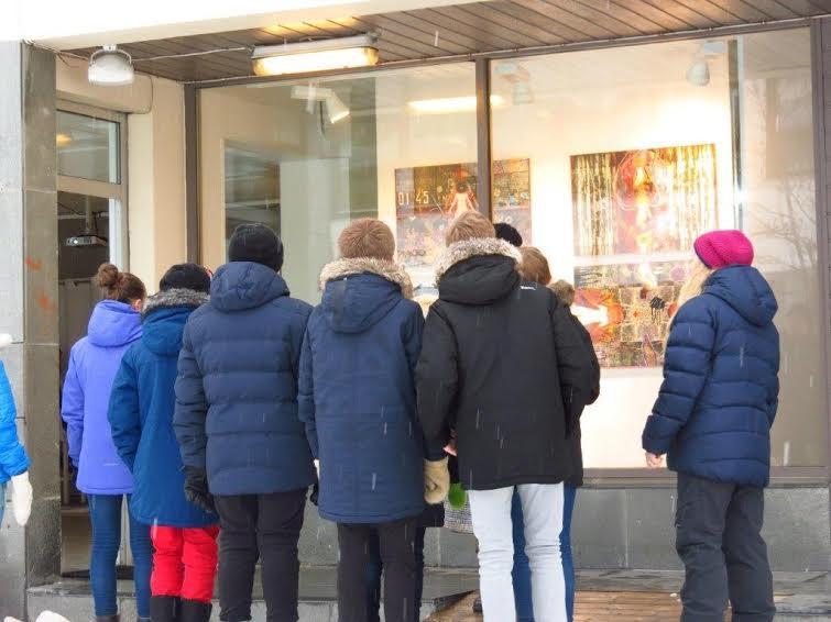 За четыре дня работы выставки ее посетили около 300 человек