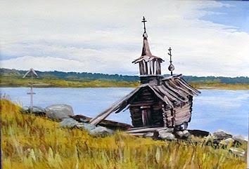 Андрей Талбот, 12 лет, Калевальский районный дом народного творчества «Старый поклонный крест и старая войницкая часовня»
