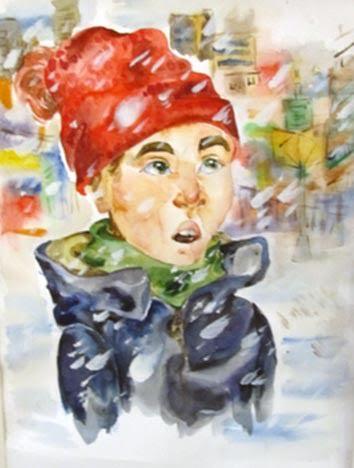 Александра Котвицкая, 13 лет, Дом творчества детей и юношества №2 Петрозаводска. Непогода