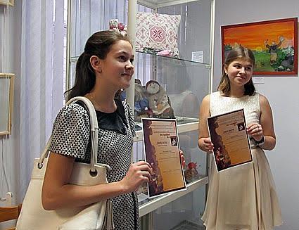 Фотосессия награжденных участников выставки