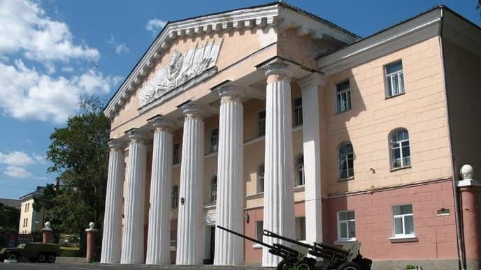 Дом офицеров. Фото Николая Инюшина
