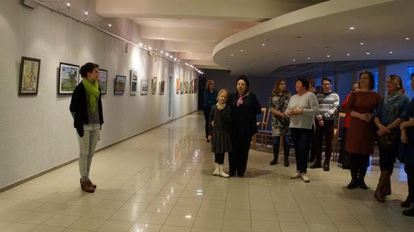 В Национальном театре открылась выставка «Взгляд»