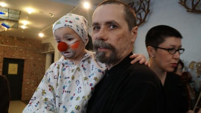 Композитор Олег Гуреев с сыном