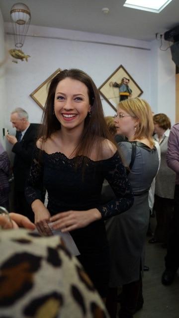 Актриса Национального театра Юлия Куйкка