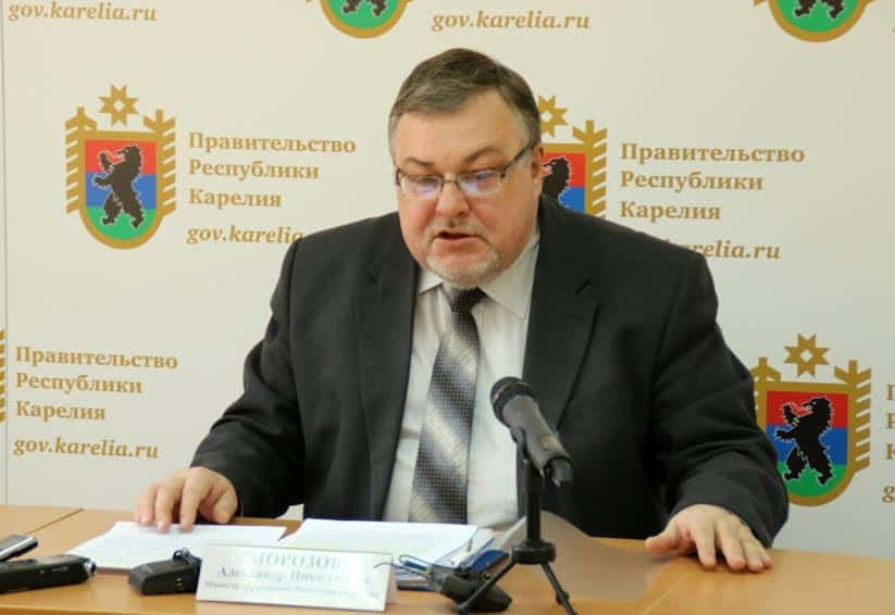 Александр Морозов. Фото пресс-службы правительства РК