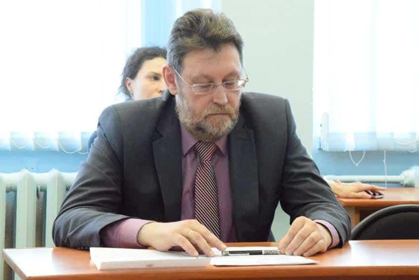 Начальник отдела Минобразования Карелии Алексей Балгачев