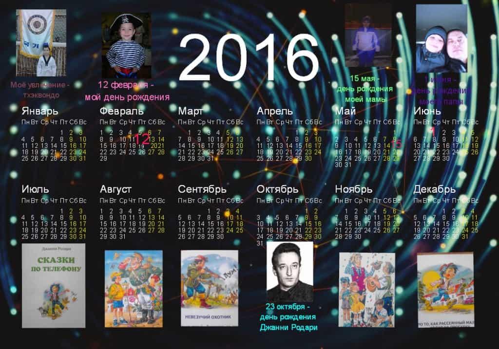 Календарь Семена Куманяева