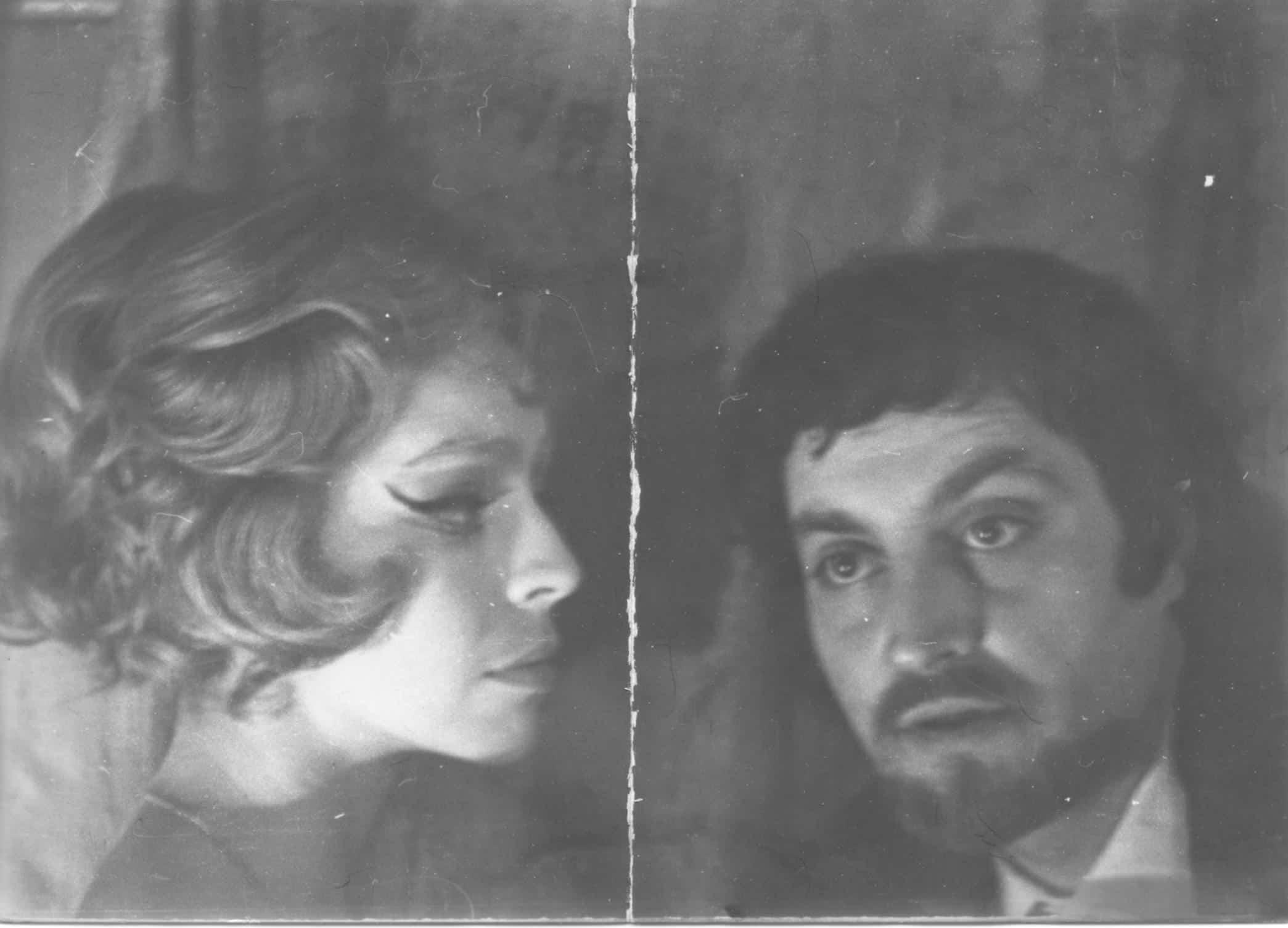 """В спектакле """"Безымянная звезда"""". Вильнюс, 1972 год"""