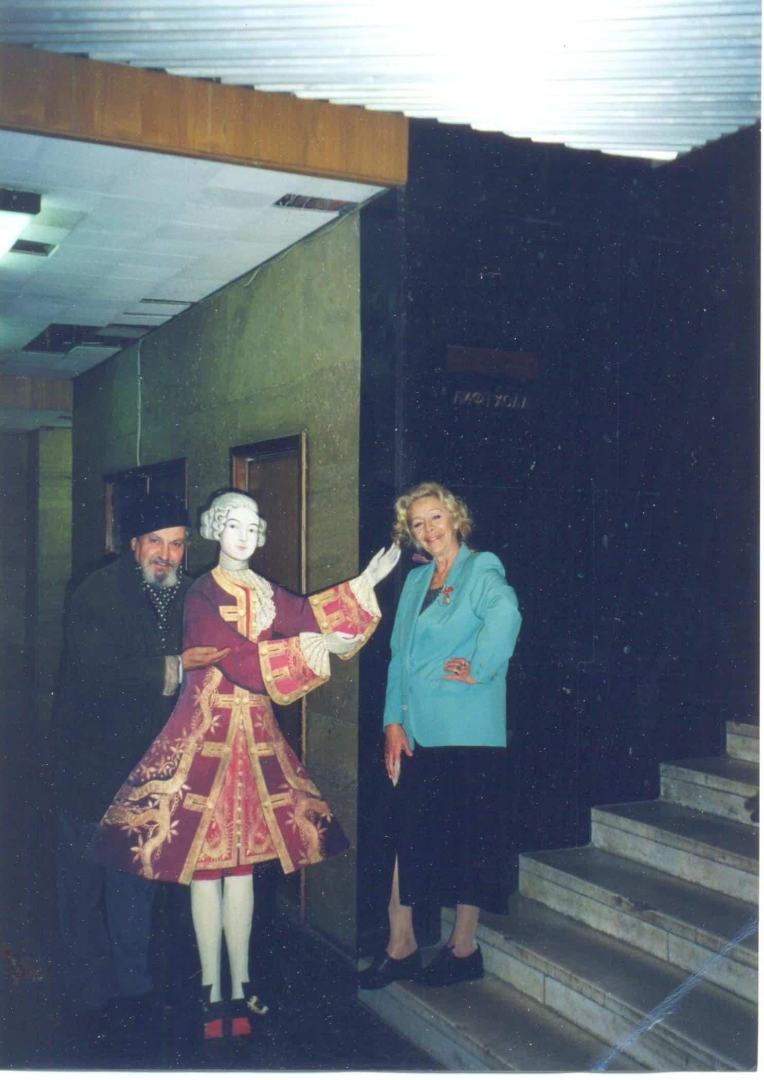 Москва. Гастроли в театре Et Cetera. 2000 год