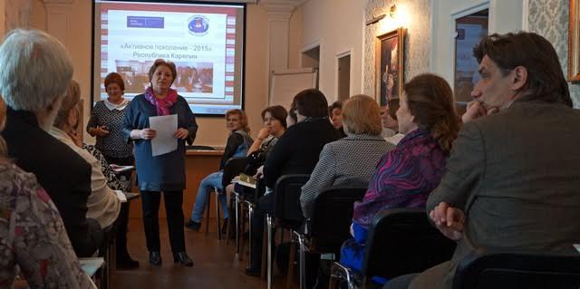 """Четыре года на территории Карелии работает проект """"Активное поколение"""""""