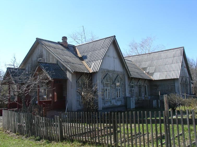 Один из жилых домов постройки 1915-1917 гг. Ул. Шотмана, 38