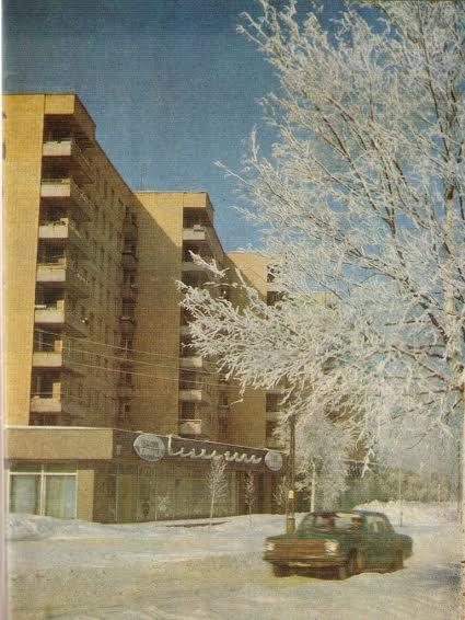 Жилой дом с кафе «Белые ночи» на Первомайском проспекте, 15