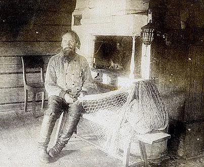 Иван Трофимович Рябинин, сын знаменитого сказителя и сам сказитель
