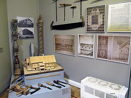Плотницкие инструменты и построенные с их помощью дома кижских крестьян