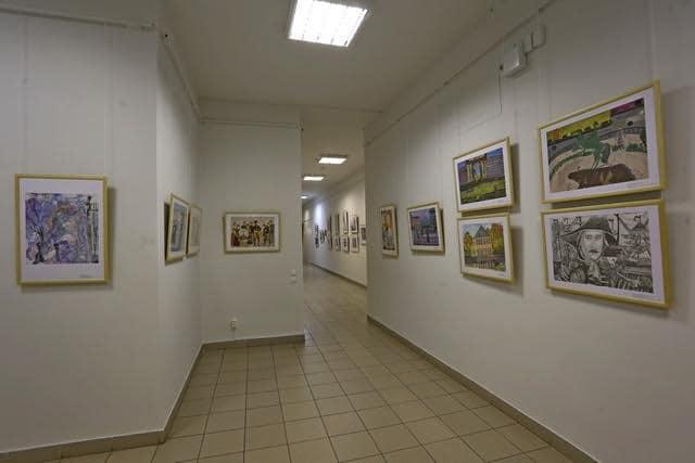 Экспозиция детской выставки