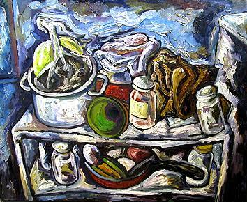 Илья Растатурин. Уголок кухни. 2006