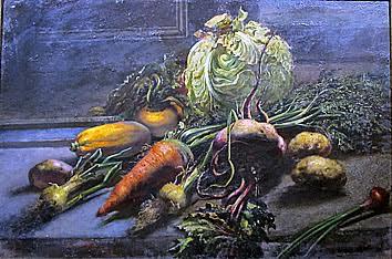 Василий Яковлев. Натюрморт. Овощи. 1942