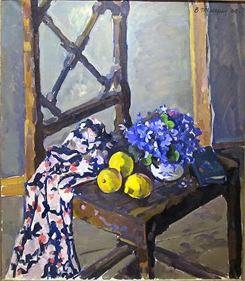 Виктор Тетерин. Подснежники и лимоны. 1960