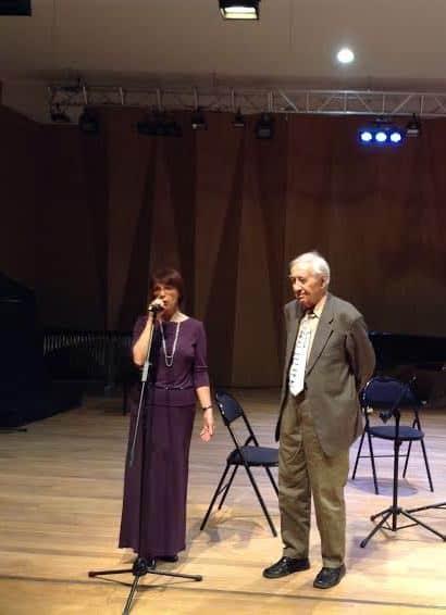 Наталья Хилько и Эдуард Патлаенко