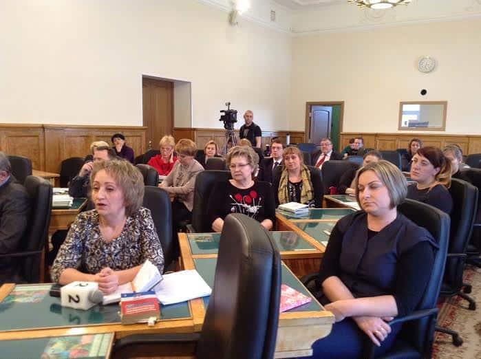 Родители воспитанников коррекционной школы-интерната № 22 в парламенте