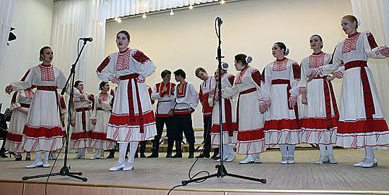 Народный хор музыкального колледжа им. К.Раутио