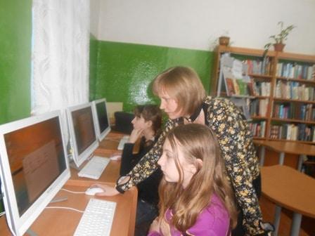 В Сосновецкой модельной сельской библиотеке Беломорского района. Фото  belomorsklib.karelia.ru