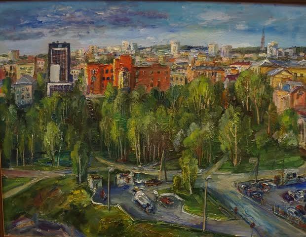 Панорама Петрозаводска