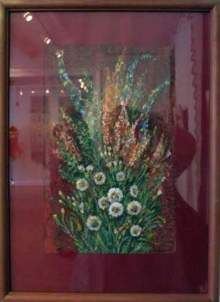 Юлия Гущина предложила натюрморт «Карельский букет» (авторская техника/бумага, акрил)
