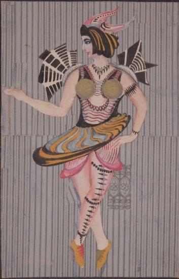 А.П. Сардан. Фантастический костюм. 1920-е