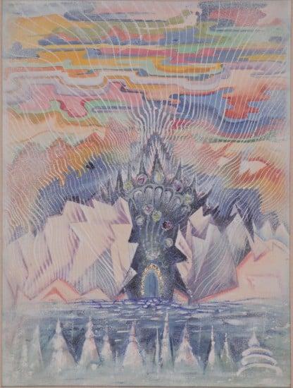 А.П. Сардан. Кристаллы - цветы земли. 1949 год