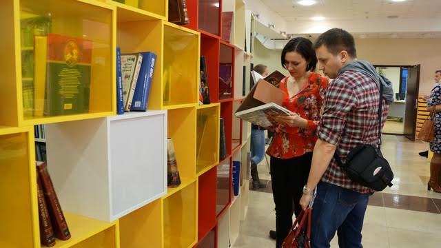 Библионочь в Петрозаводске. Фото Ирины Ларионовой