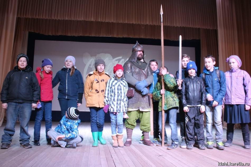 В Медвежьегорске и деревнях Заонежья прошли встречи «Былина глазами кинематографа»