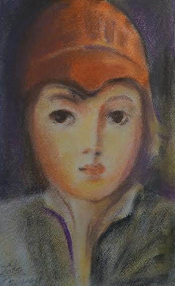 Дарья Одинец.  Портрет мальчика