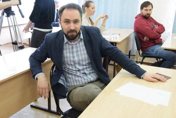 Депутат Алексей Гаврилов перед экзаменом