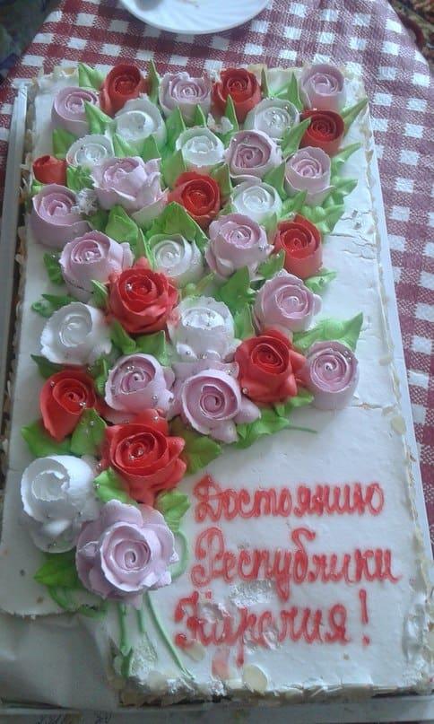Торт для Клары Стасюк