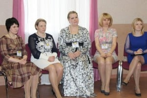 Финалисты конкурса. Крайняя слева - победитель Наталья Балдесова