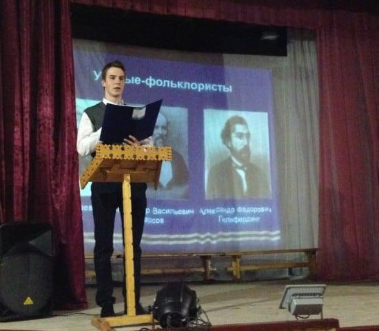 Глеб Даниленко изучил знание фольклора в четырех возрастных группах