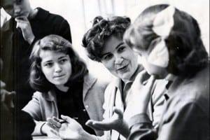 Светлана Александровна Головина с учениками. 1970 год