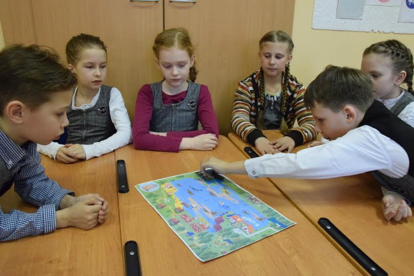 Игра с картой началась. Фото Марии Голубевой