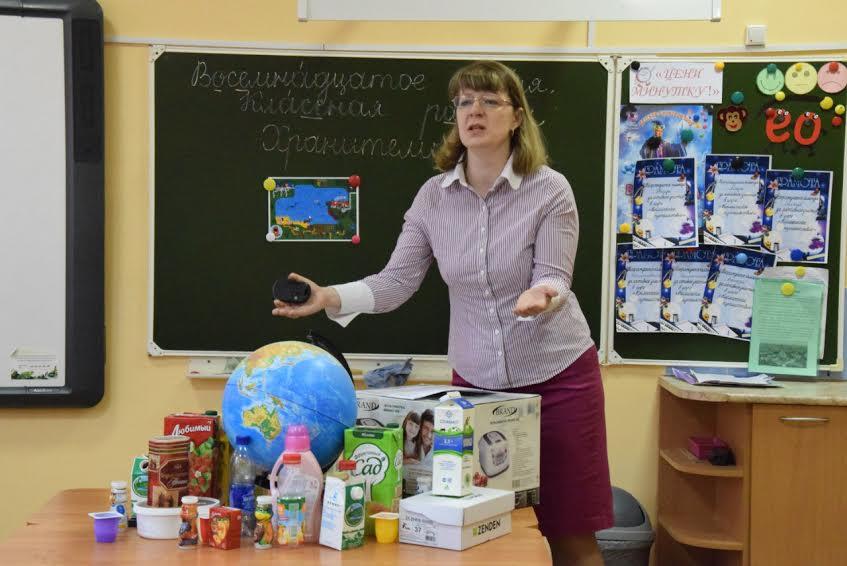 Ирина Пилецкая обращается к третьеклассникам