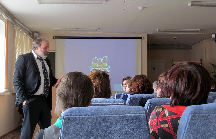 Иван Ященко отвечает на вопросы учителей