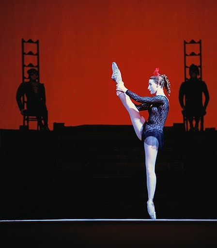 "Майя Плисецкая в балете ""Кармен"" Фото: Огонек"