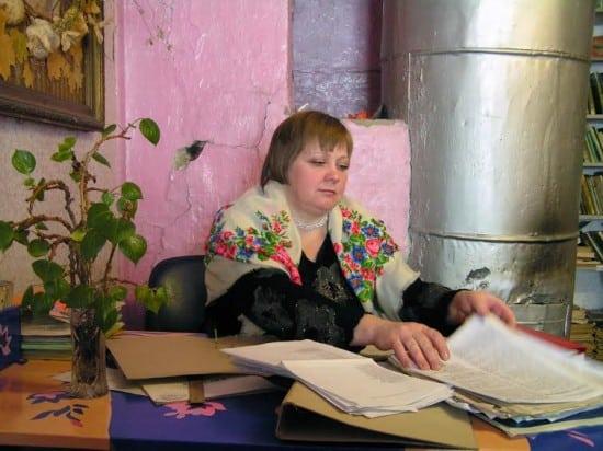 Сельская учительница Лилия Кепель