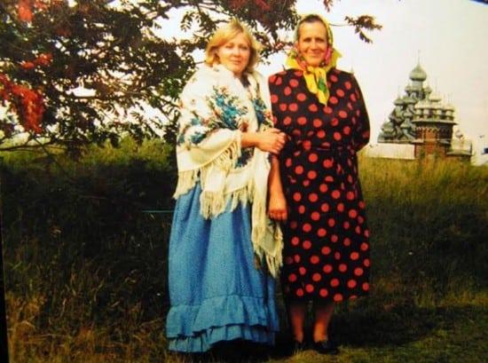 Лилия Кепель с мамой