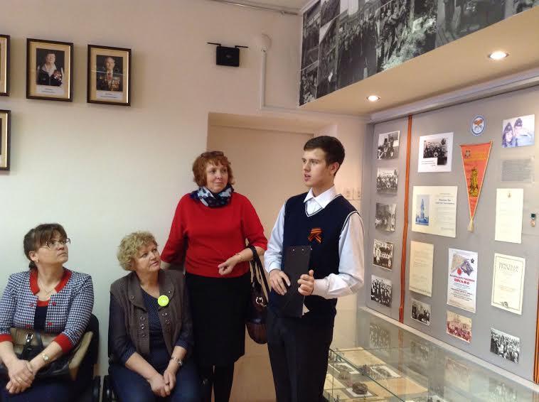 Экскурсия для гостей конкурса в Музее дедов