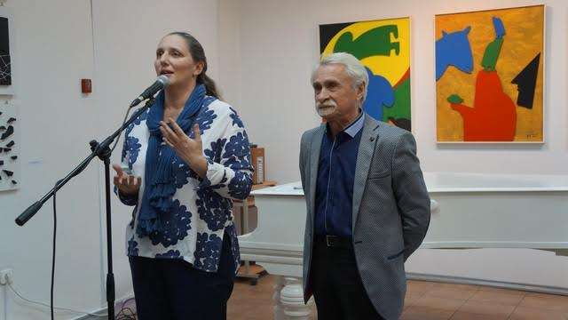Мария Юфа и Давид Плаксин
