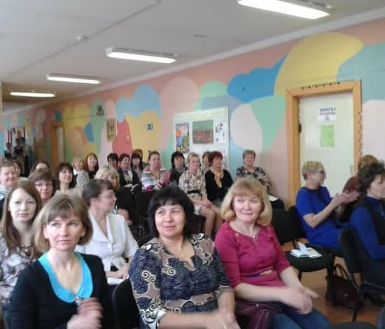 На педагогической конференции в Рыпушкальской основной школе Олонецкого района. Фото Зинаиды Ефловой
